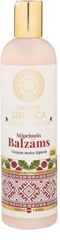 Natura Siberica Loves Latvia Strengthening Balm for Hair