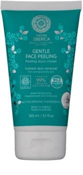 Natura Siberica Natural & Organic exfoliante suave para pele normal e seca