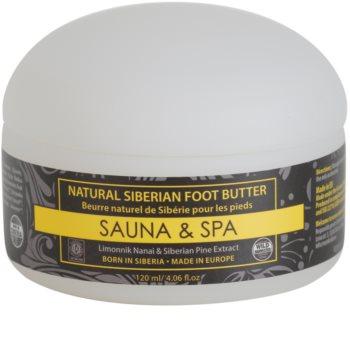 Natura Siberica Sauna and Spa Butter für Füssen