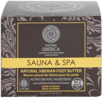 Natura Siberica Sauna and Spa manteiga para pernas