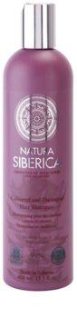 Natura Siberica Wild Herbs and Flowers champô para cabelo danificado e pintado