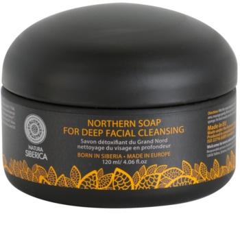 Natura Siberica Wild Herbs and Flowers detoxikačné pleťové mydlo pre hĺbkové čistenie