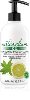 Naturalium Fruit Pleasure Herbal Lemon latte nutriente corpo