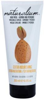 Naturalium Nuts Almond and Pistachio hranilna maska s keratinom
