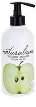 Naturalium Fruit Pleasure Green Apple tápláló testápoló krém