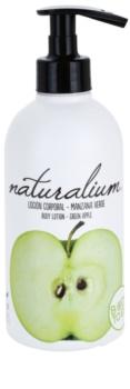 Naturalium Fruit Pleasure Green Apple výživné telové mlieko