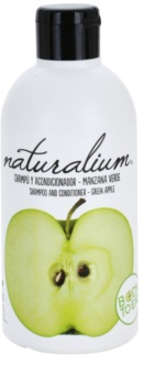 Naturalium Fruit Pleasure Green Apple shampoing et après-shampoing