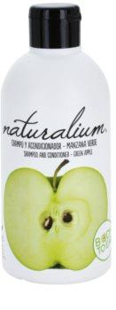 Naturalium Fruit Pleasure Green Apple shampoo e balsamo