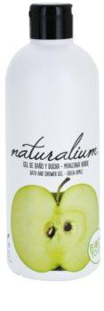 Naturalium Fruit Pleasure Green Apple gel de dus hranitor