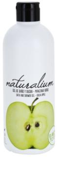 Naturalium Fruit Pleasure Green Apple tápláló tusoló gél
