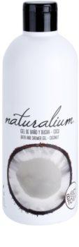 Naturalium Fruit Pleasure Coconut hranilni gel za prhanje