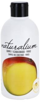 Naturalium Fruit Pleasure Mango champô e condicionador