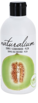 Naturalium Fruit Pleasure Melon sampon si balsam