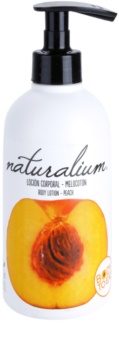 Naturalium Fruit Pleasure Peach leite corporal nutritivo