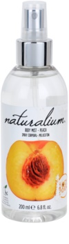 Naturalium Fruit Pleasure Peach spray rafraîchissant corps