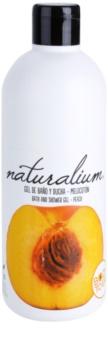 Naturalium Fruit Pleasure Peach gel de douche nourrissant