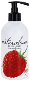 Naturalium Fruit Pleasure Raspberry leite corporal nutritivo