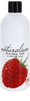 Naturalium Fruit Pleasure Raspberry tápláló tusoló gél