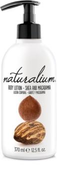 Naturalium Nuts Shea and Macadamia leche corporal regeneradora