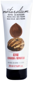 Naturalium Nuts Shea and Macadamia masca pentru regenerare cu keratina