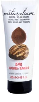 Naturalium Nuts Shea and Macadamia regeneracijska maska s keratinom