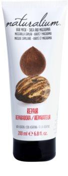Naturalium Nuts Shea and Macadamia regeneračná maska  s keratínom