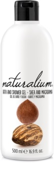Naturalium Nuts Shea and Macadamia regeneračný sprchový gél