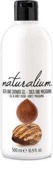 Naturalium Nuts Shea and Macadamia відновлюючий гель для душу