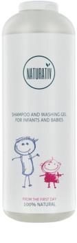 Naturativ Baby šampon a mycí gel 2 v 1 pro děti od narození