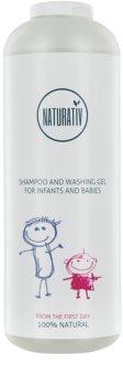 Naturativ Baby sampon si gel de baie 2 in 1 pentru nou-nascuti si copii