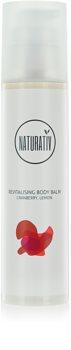 Naturativ Body Care Revitalising Körperbalsam mit feuchtigkeitsspendender Wirkung zum straffen der Haut