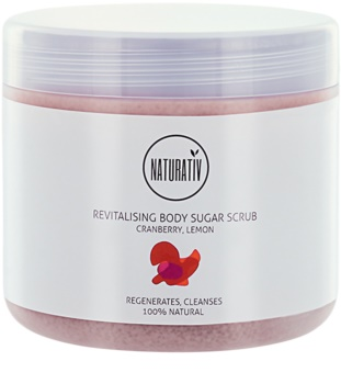 Naturativ Body Care Revitalising Sugar Scrub For Body