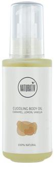 Naturativ Body Care Cuddling Körperöl mit feuchtigkeitsspendender Wirkung