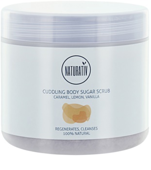 Naturativ Body Care Cuddling peeling de açúcar para corpo