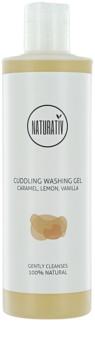 Naturativ Body Care Cuddling gel de duche suave com glicerol