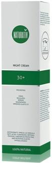 Naturativ Face Care 30+ nočna krema proti prvim znakom staranja kože