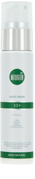 Naturativ Face Care 30+ Night Cream Against The First Signs of Skin Aging