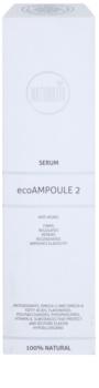 Naturativ Face Care ecoAmpoule 2 intensywne serum o działaniu przeciwzmarszczkowym