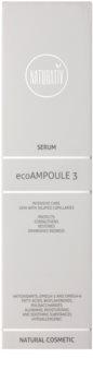 Naturativ Face Care ecoAmpoule 3 Hautserum zur Stärkung feiner Äderchen und zur Reduktion von Rötungen