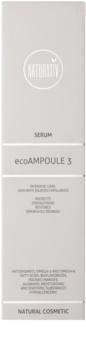 Naturativ Face Care ecoAmpoule 3 pleťové sérum pro posílení jemných žilek a redukci začervenání