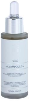 Naturativ Face Care ecoAmpoule 4 intenzívne sérum pre mastnú pleť so sklonom k akné