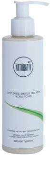 Naturativ Hair Care Getleness,Shine&Strength acondicionador para cuero cabelludo sensible