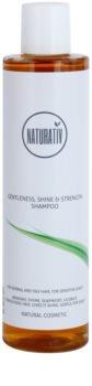 Naturativ Hair Care Getleness,Shine&Strength champú suave para cuero cabelludo sensible