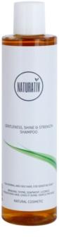 Naturativ Hair Care Getleness,Shine&Strength sanftes Shampoo für empfindliche Kopfhaut