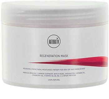 Naturativ Hair Care Regeneration máscara para reforçar e dar brilho ao cabelo