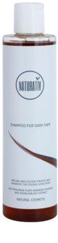 Naturativ Hair Care Dark sampon natural pentru a evidentia culoarea parului