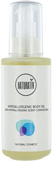 Naturativ Body Care Hypoallergenic tělový a masážní olej s hydratačním účinkem