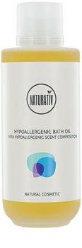 Naturativ Body Care Hypoallergenic sprchový a koupelový olej s hydratačním účinkem