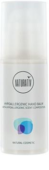 Naturativ Body Care Hypoallergenic pflegendes Balsam für die Hände für trockene und sehr trockene Haut