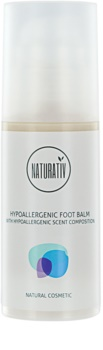 Naturativ Body Care Hypoallergenic balsam regenerator pentru pielea crapata a calcaielor